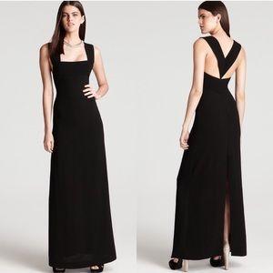 BCBG Max Azria Black Agata Gown